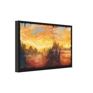 Fantasy Landscape2 Stretched Canvas Prints