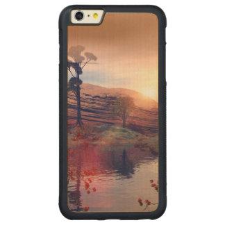 Fantasy landscape carved® maple iPhone 6 plus bumper case