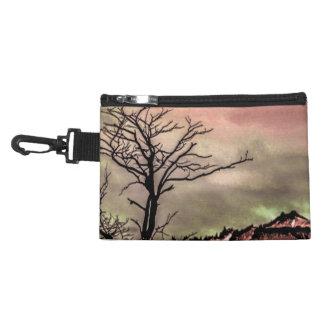 Fantasy Landscape Illustration Accessory Bag
