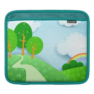 Fantasy landscape, iPad sleeve