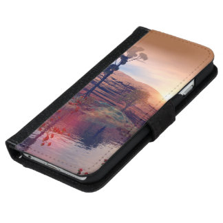 Fantasy landscape iPhone 6 wallet case