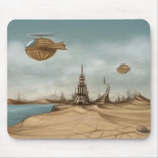 Fantasy landscape mouse pad