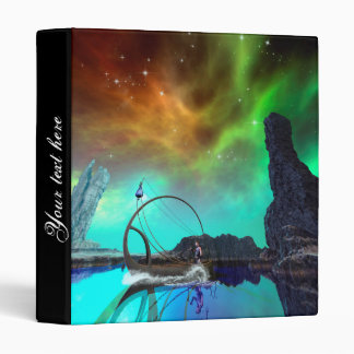 Fantasy landscape with awesome sky vinyl binders