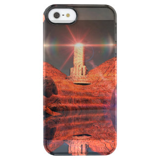 Fantasy landscape with light effects uncommon clearly™ deflector iPhone 5 case