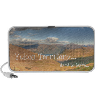 Fantasy Landscape; Yukon Territory Souvenir Notebook Speaker