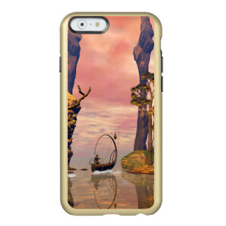Fantasy lanscape with lamp boat incipio feather® shine iPhone 6 case
