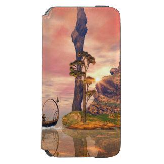 Fantasy lanscape with lamp boat incipio watson™ iPhone 6 wallet case