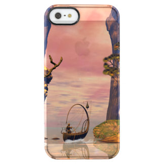 Fantasy lanscape with lamp boat uncommon clearly™ deflector iPhone 5 case