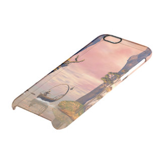 Fantasy lanscape with lamp boat uncommon clearly™ deflector iPhone 6 case