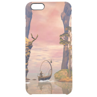 Fantasy lanscape with lamp boat uncommon clearly™ deflector iPhone 6 plus case