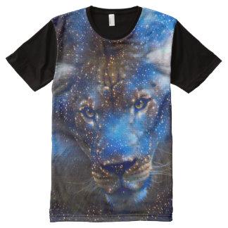 Fantasy Leo Zodiac Spirit Fantasy Airbrush Art All-Over-Print Shirt