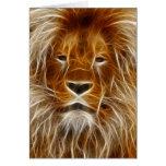 Fantasy Lion Card