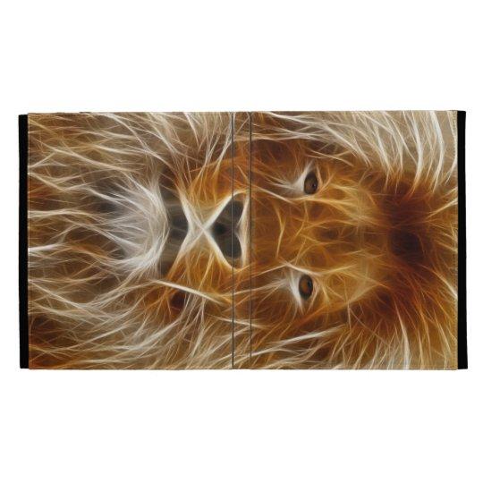 Fantasy Lion iPad Folio Case