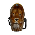 Fantasy Lion Messenger Bags