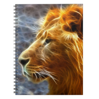 fantasy lion notebook