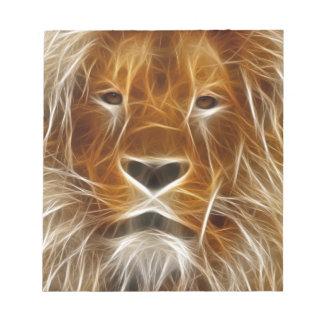 Fantasy Lion Notepad