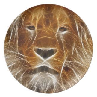 Fantasy Lion Plate
