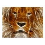 Fantasy Lion Postcards