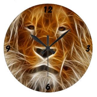 Fantasy Lion Wall Clocks