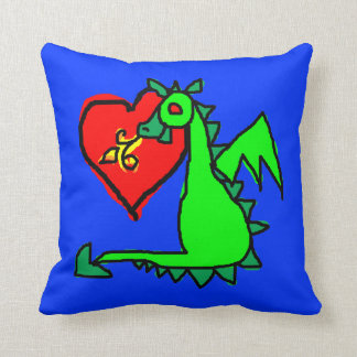 Fantasy Love: A Child's Eye View Throw Pillow