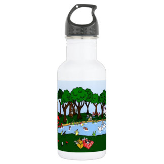 Fantasy Magical Forest Water Bottle