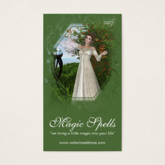 Fantasy Magical Mother Earth Business Card