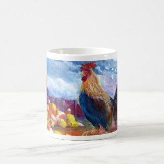 Fantasy Make Believe Chickens and Candy Corn Coffee Mug