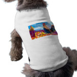 Fantasy Make Believe Chickens and Candy Corn Dog Tshirt