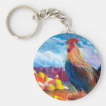 Fantasy Make Believe Chickens and Candy Corn Keychains