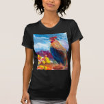 Fantasy Make Believe Chickens and Candy Corn Tee Shirts