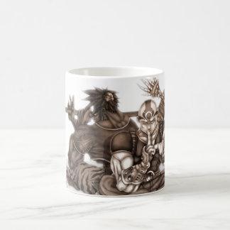Fantasy Manga Warriors Coffee Mug