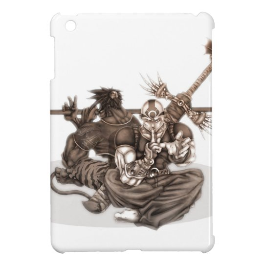 Fantasy Manga Warriors iPad Mini Cases