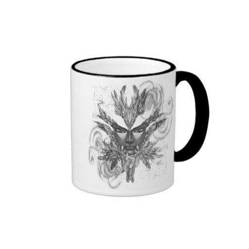 Fantasy Mask Ringer Mug