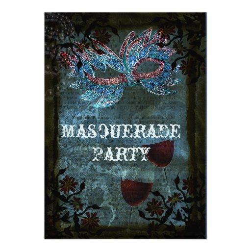 Fantasy Masquerade party Invitation