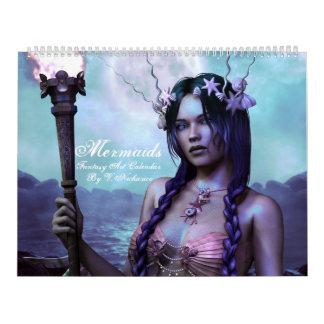 Fantasy Mermaid Calendar