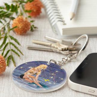 Fantasy Mermaid Acrylic Keychain