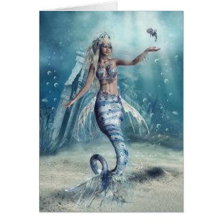 Fantasy Mermaid Note Card