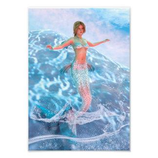 Fantasy Mermaid Photo Print