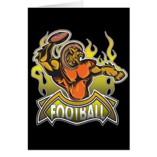 Fantasy Monster Football Card
