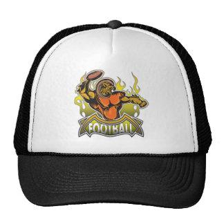 Fantasy Monster Football Mesh Hats