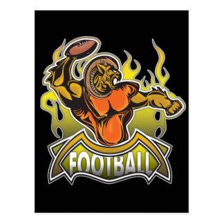 Fantasy Monster Football Post Card