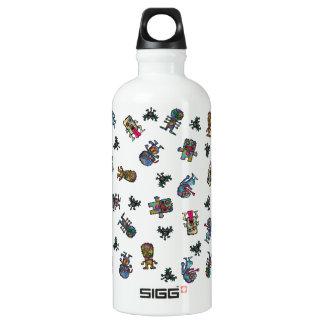 Fantasy monsters aluminum water bottle