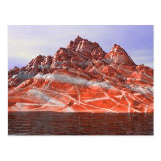 Fantasy Mountain Postcard