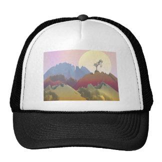 Fantasy Mountain Trucker Hat