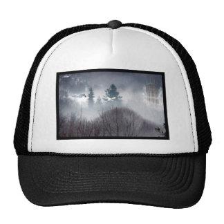 Fantasy mountains trucker hat