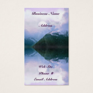 Fantasy Mountains Scenic Beauty Business Cards