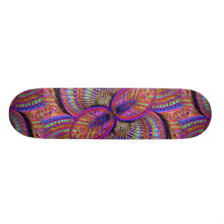 Fantasy Multicolored Ornament Skateboard