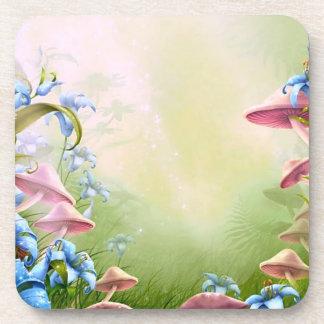 Fantasy Mushrooms Coasters