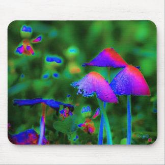 Fantasy Mushrooms Mouse Pad