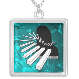 Fantasy Music Piano Necklace